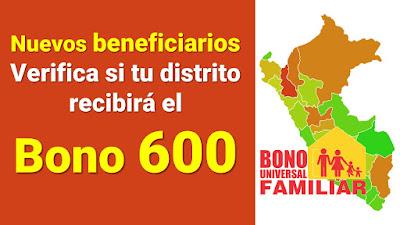Verifica si te encuentras entre los nuevos beneficiarios del Bono 600