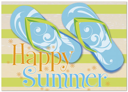 Cute Summer Wishes Card Greetings