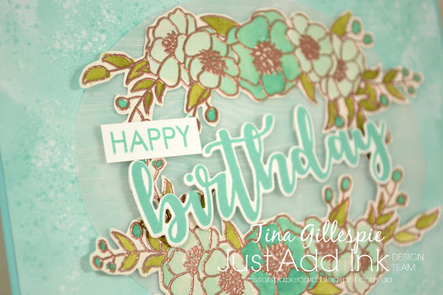 scissorspapercard, Stampin' Up!, Uniquely Creative, Just Add Ink, Bloom and Grow, Sweet Sentiments Builder, Pinewood Planks EF, Follow Your Art DSP