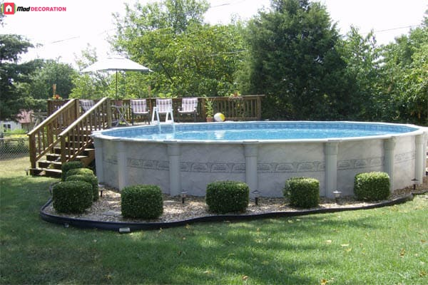 10 Ideas for Designing an Above Ground Pool