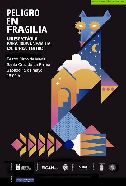 El Ayuntamiento conmemora el Día de la Familia con la obra gratuita 'Peligro en Fragilia'