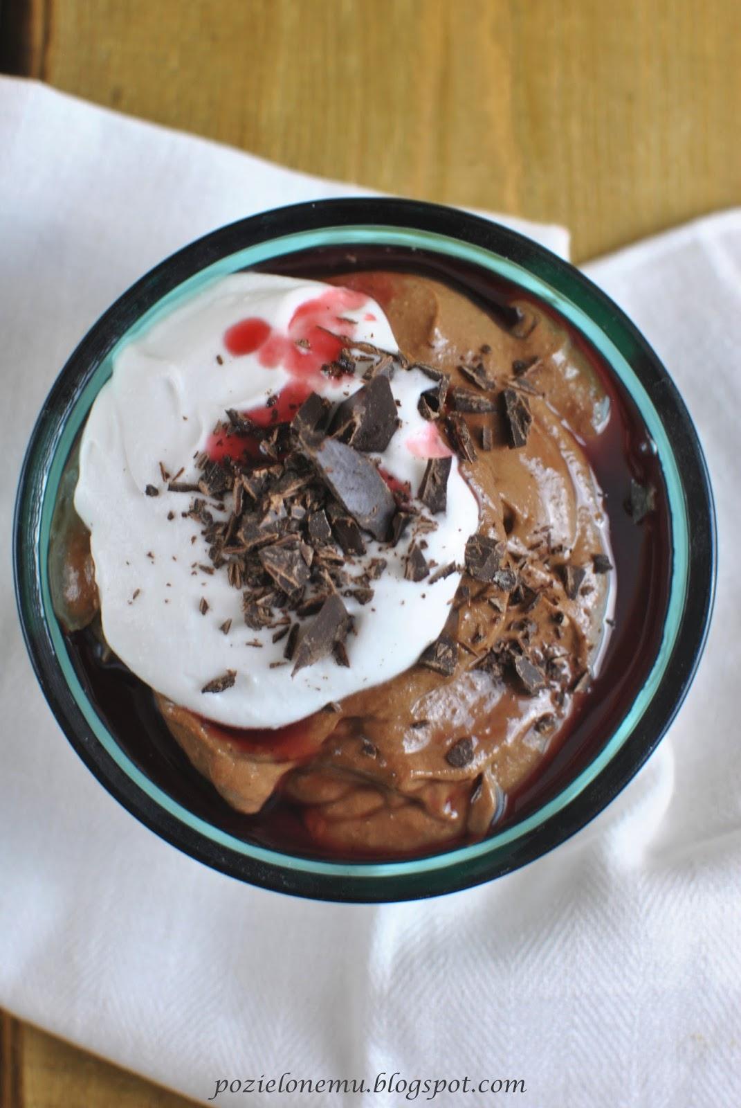 czekoladowy pudding jaglany