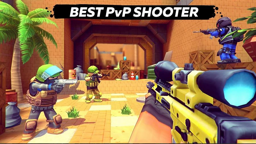 Download Kuboom 3D FPS Shooter MOD APK 1