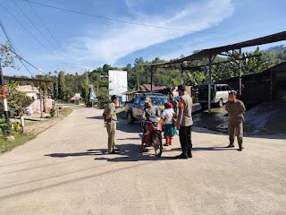 Polsek Malua Polres Enrekang Melaksanakan Operasi Yustisi Penerapan Disiplin Protokol Kesehatan