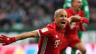 Bayern Munich Menang 2-1 atas Werder Bremen