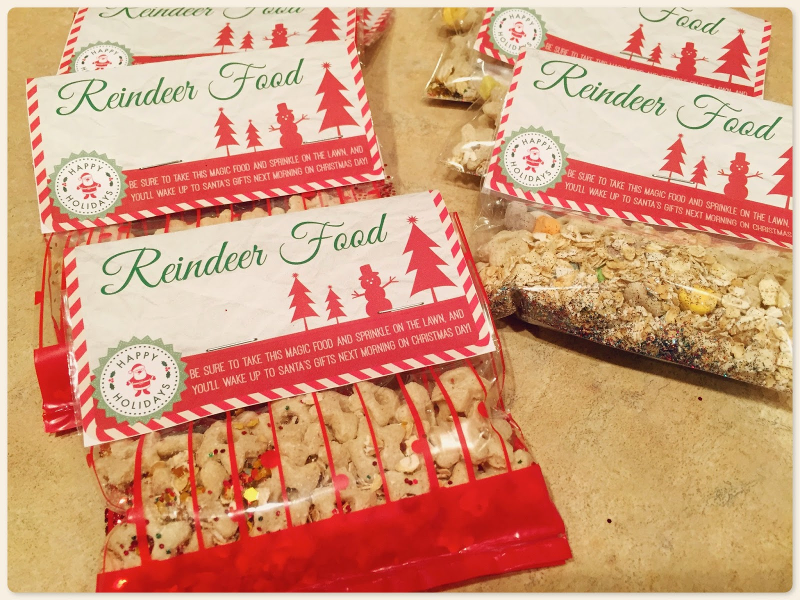 Taylors4you Reindeer Food With Free Printable Label