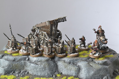 Ironhills Army Hobbit SBG