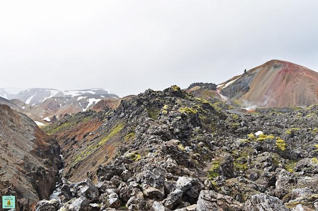 Monte Brennisteinsalda de Landmannalaugar, Islandia
