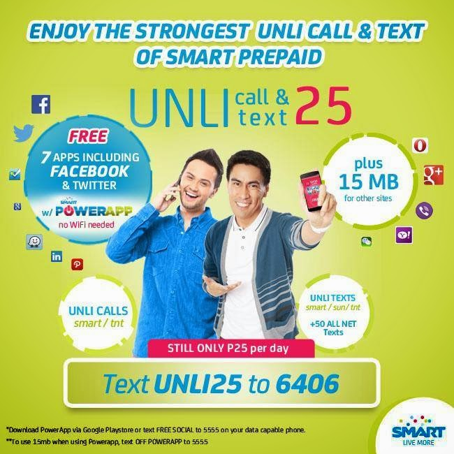 Smart Unli Call and Text 25