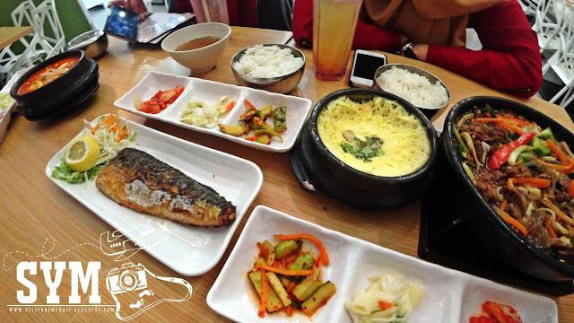 Makanan Korea yang sedap di Soopong Ioi City Mall