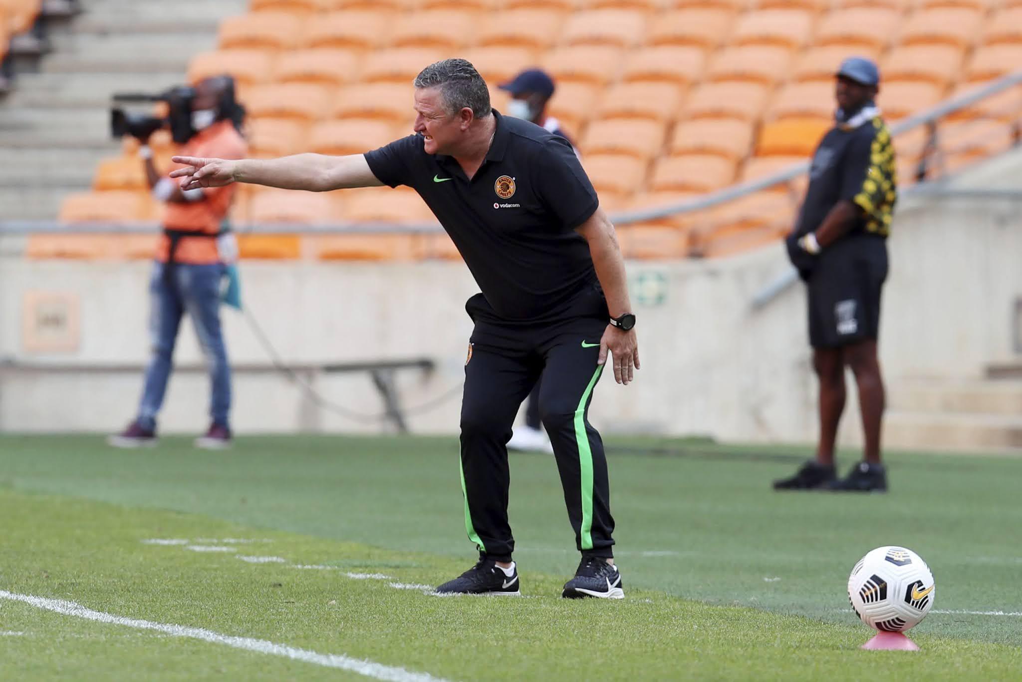 Kaizer Chiefs head coach Gavin Hunt