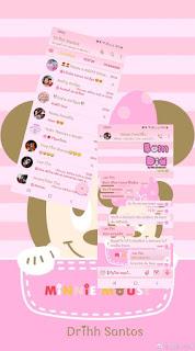 Minnie Theme For YOWhatsApp & Fouad WhatsApp By Driih Santos