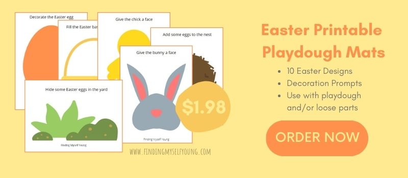 10 pack easter playdough mats by Finding Myself Young