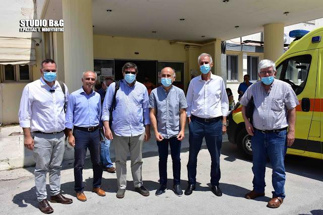 Επισκέψεις σε δομές υγείας της Αργολίδας από κλιμάκιο του Τμήματος Υγείας του ΣΥΡΙΖΑ (βίντεο)