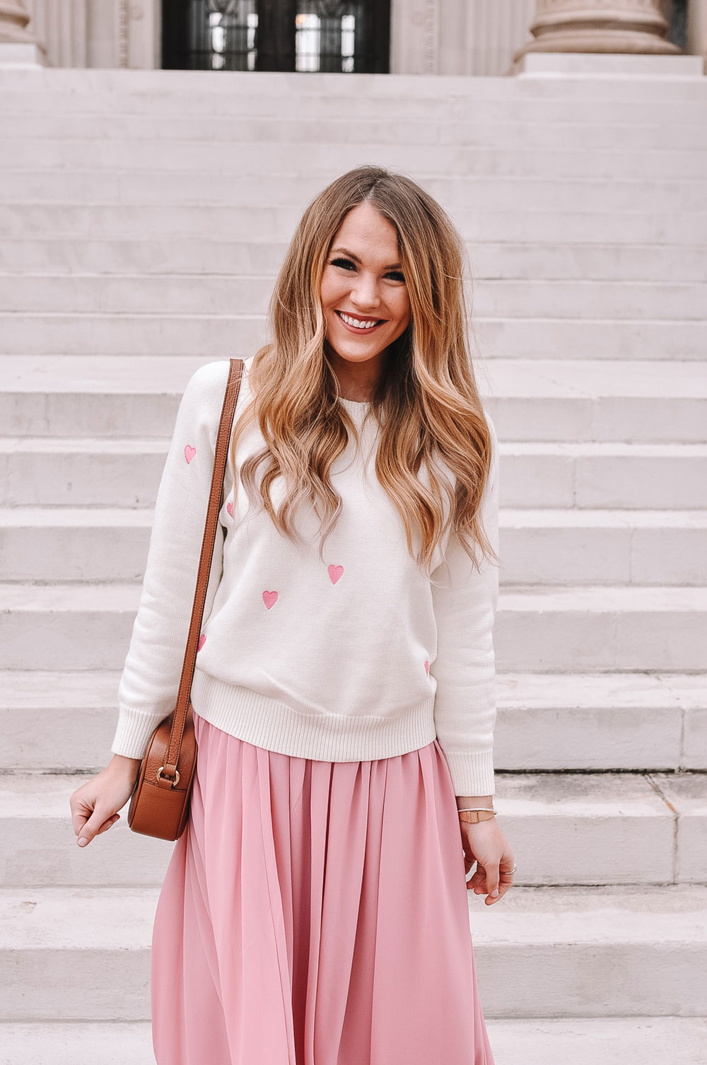 What to wear for Valentine's Day with OKC blogger @AmandasOK