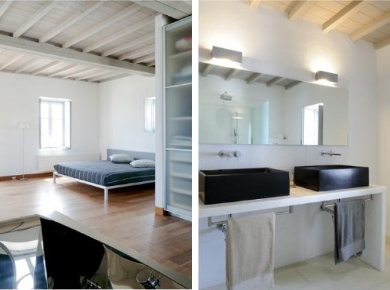 Camera Da Letto Con Struttura In Legno E Bauli Interior Design : La casa bianca di arredamento e interni dettagli