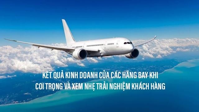 Lợi ích của đo lường trải nghiệm qua kết quả kinh doanh của các hãng hàng không