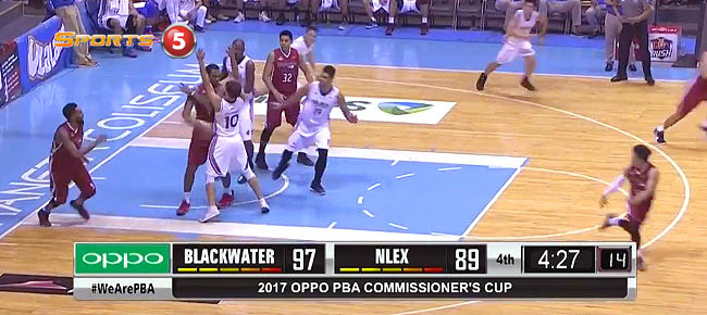 Blackwater def. NLEX, 104-98 (REPLAY VIDEO) May 3