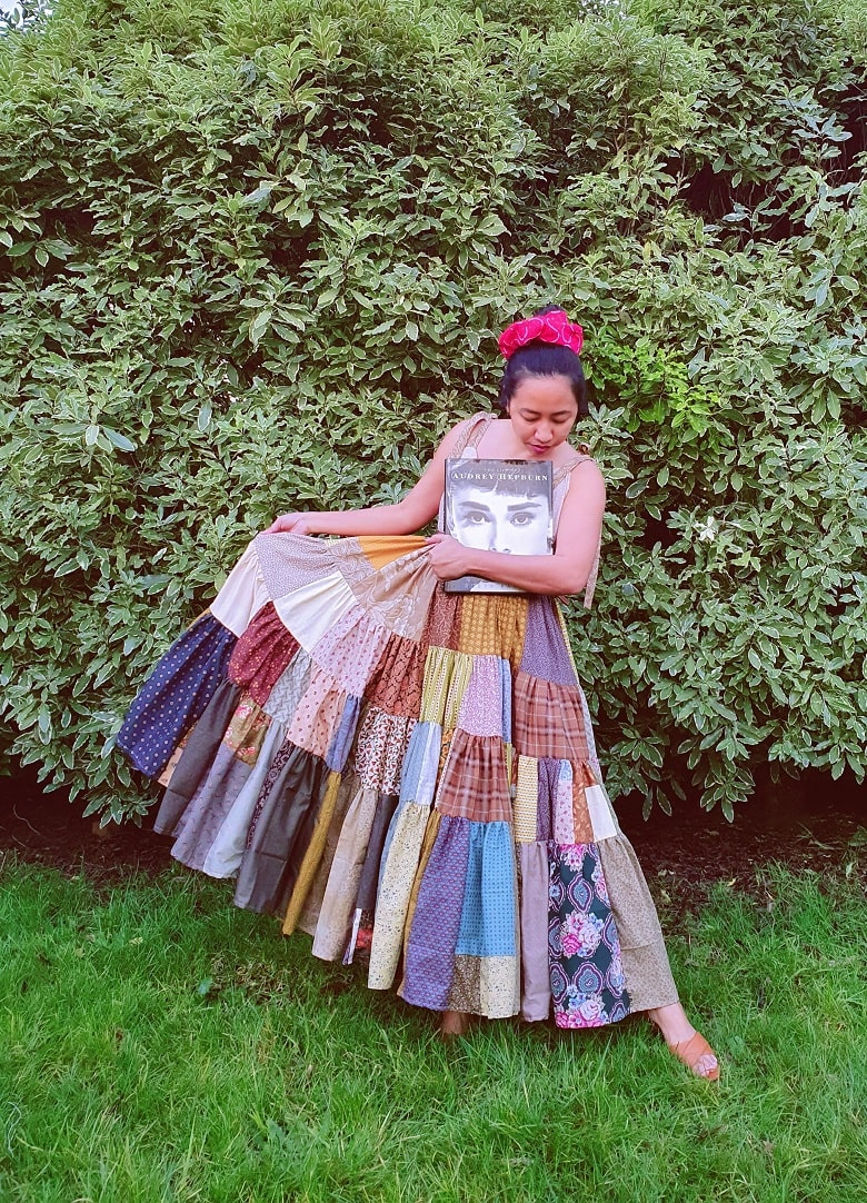How I Made Miu Miu-inspired Patchwork Dress from Scratch