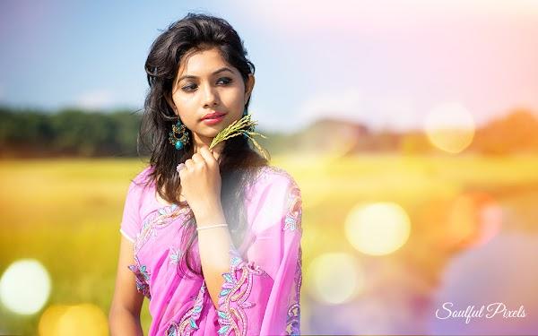 Gorgeous Assamese Model