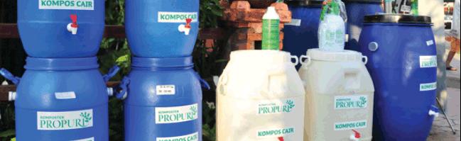 membuka usaha pembuatan komposter dan pupuk cair