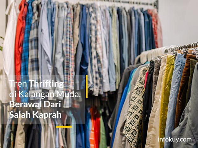 Tren Thrifting di Kalangan Muda