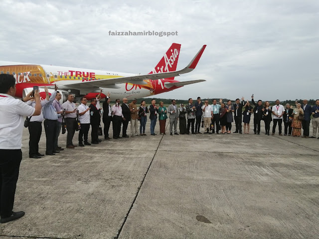Perasmian Kempen Penjenamaan OK Group untuk pesawat AirAsia A320