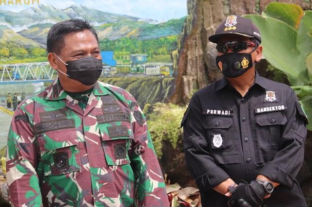Pangdam III/Siliwangi Minta Para Dansektor Untuk Mengkontrol Pabrik-Pabrik, Agar Tidak Buang Limbah Ke Sungai Citarum