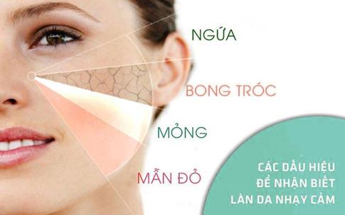 Sửa rửa mặt riêng biệt cho các cô nàng có làn da nhạy cảm.