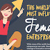9 of the most successful & famous female entrepreneurs in the world #infographic