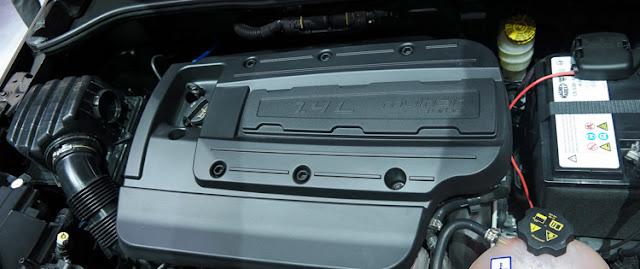 2018 Fiat 500X Engine
