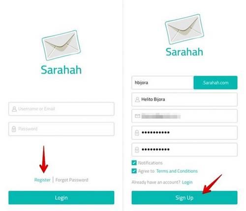 Como criar ou excluir a conta do Sarahah com dicas simples