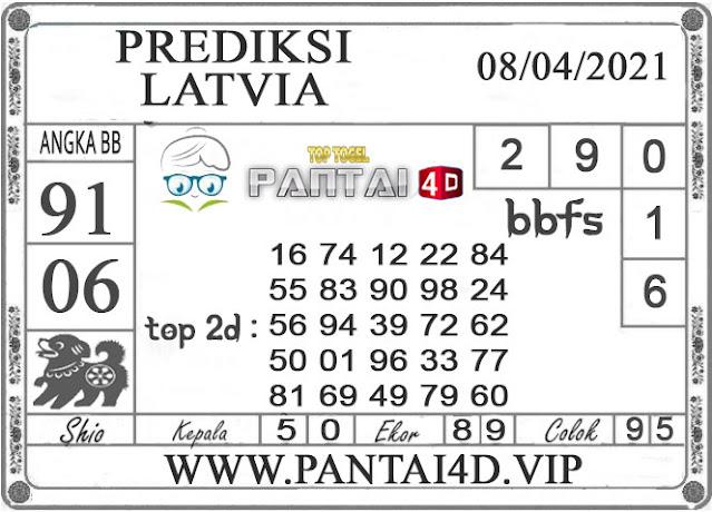 PREDIKSI TOGEL LATVIA PANTAI4D 08 APRIL 2021
