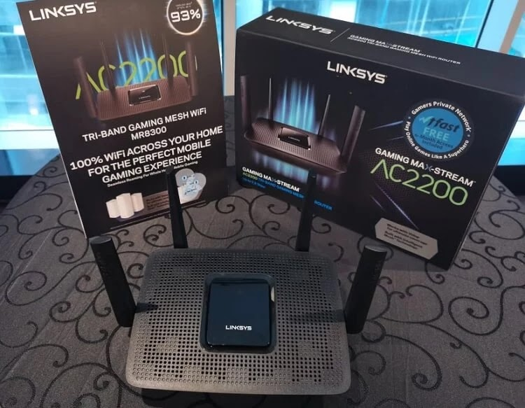 Linksys Launches MR8300 Tri-Band Gaming Mesh WiFi Router