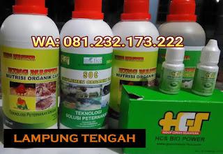 Jual SOC HCS, KINGMASTER, BIOPOWER Siap Kirim Lampung Tengah Gunung Sugih