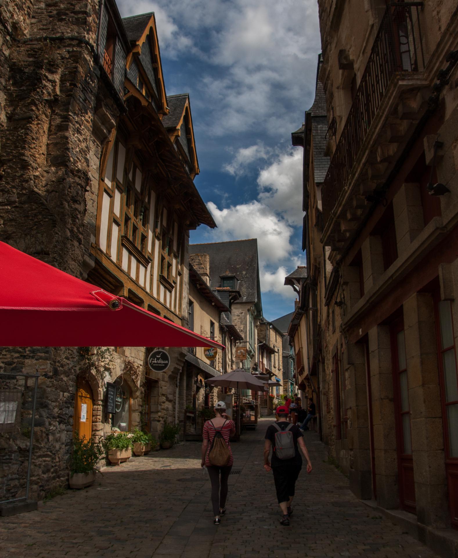 rue médiévale vitre
