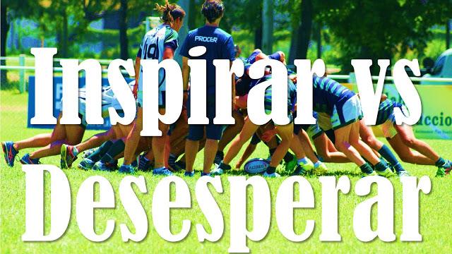 Paradoja de la pelota de rugby ¿Inspiración? ¿Desesperación?