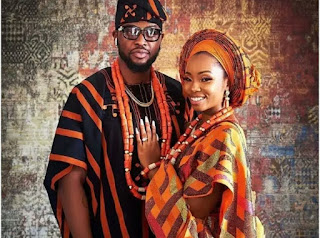 BBNaija: Nigerians React As Bambam, Teddy A Get Married [Photos]