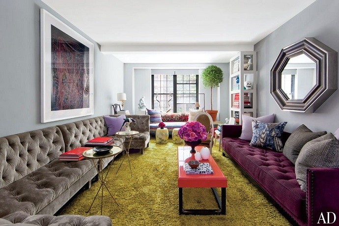 Mix And Chic Home Tour A Stylist S Globally Chic New York Apartment