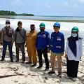 Camat Pasimarannu Dampingi Tim Kemenhub Tinjau Lokasi Pembangunan Dermaga Ferry