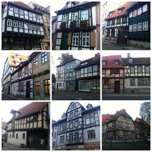 casa enxaimel em Quedlingburg