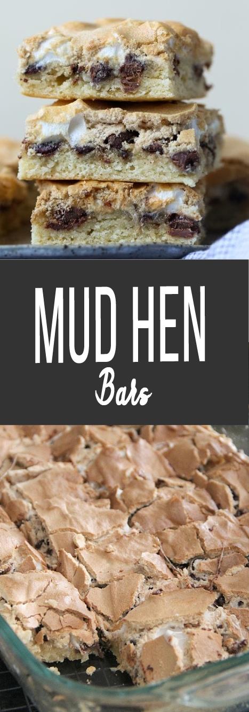 Recipe Mud Hen Bars #bars #cookies