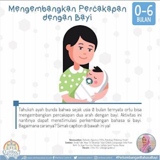Mengembangkan Percakapan dengan Bayi