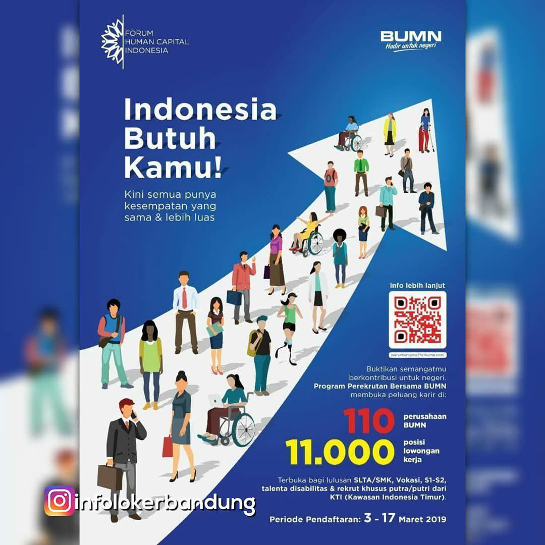Lowongan Kerja BUMN Forum Human Capital Indonesia Maret 2019
