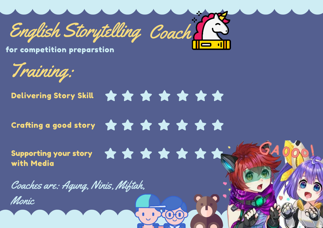 Tutor Privat English Storytelling Jakarta