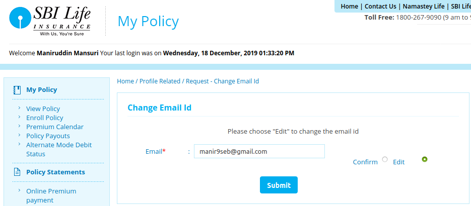 How to Update Email, Contact, PAN & Personal Info in SBI ...