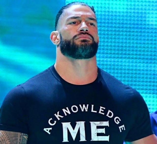 Acknowledge Me Roman Reigns T-shirt.  PYGear.com