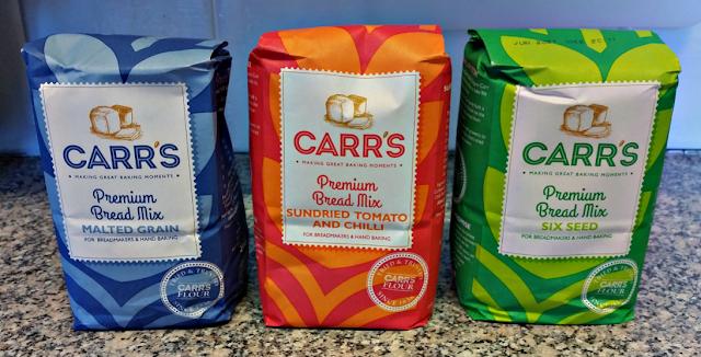 Premium bread mixes from Carr's Flour.