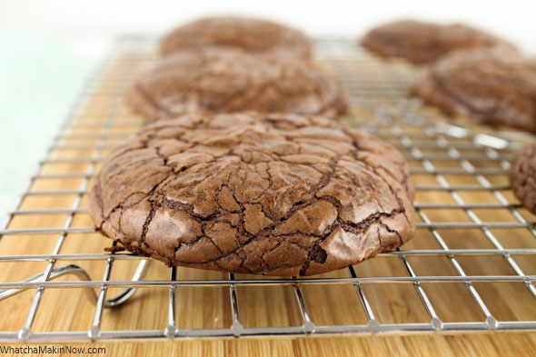 Brownie Cookies from Whatcha Makin' Now?