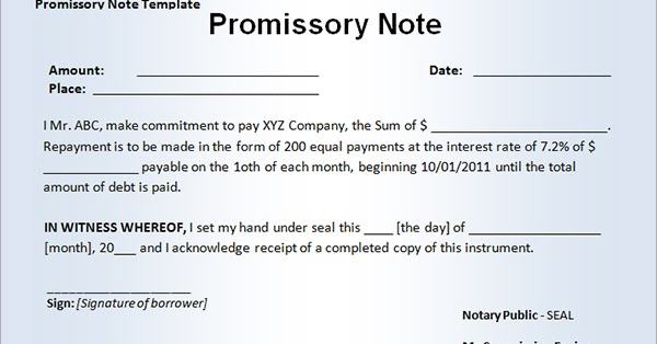 Law Web How to appreciate evidence in case of suit based on - promissory agreement template
